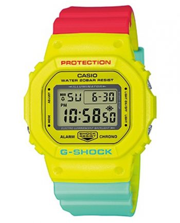 CASIO G-Shock DW-5600CMA-9 Breezy Rasta Color Series