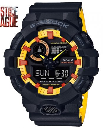 CASIO G-Shock GA-700BY-1APRDC JUSTICE LEAGUE Limited Edition
