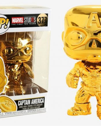 Funko POP! Marvel Studios 10 CAPTAIN AMERICA (Chrome)