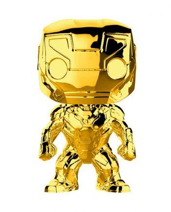 Funko POP! Marvel Studios 10 IRON MAN (Chrome) 375