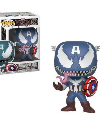 Funko POP! Marvel VENOMIZED CAPTAIN AMERICA 364 Vinyl Figure
