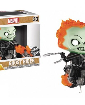 Funko POP! Rides GHOST RIDER on Bike 33 Vinyl Figure
