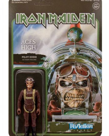 Super 7 ReAction Iron Maiden Aces High PILOT EDDIE 10cm