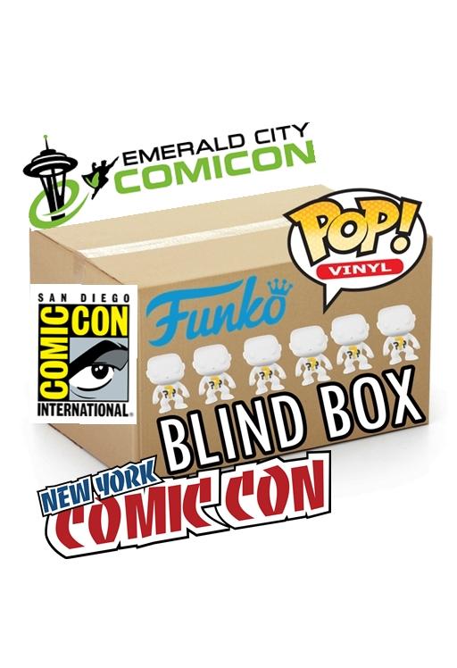 Funko POP! BLIND BOX 5 Regular + 1 CONVENTION COMIC CON