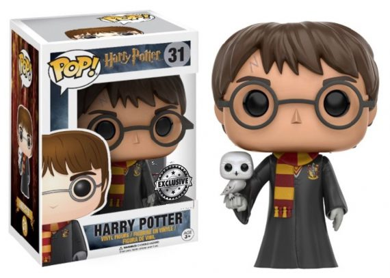 FUNKO POP! Harry Potter - Harry Potter With Hedwig 31