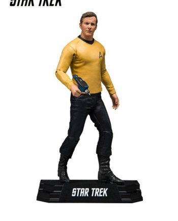 McFarlane Toys Star Trek Captain JAMES T.KIRK Action Figure 18cm