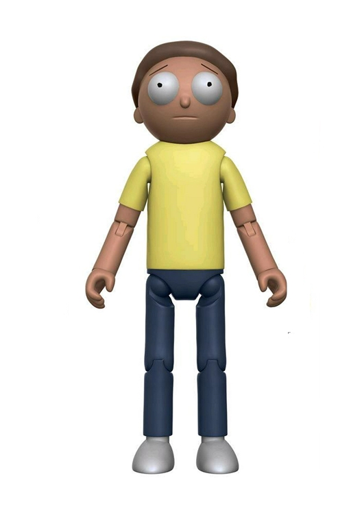 Funko Rick and Morty MORTY Action Figure Articulated 13cm