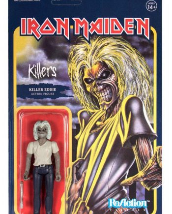 Super 7 ReAction Iron Maiden Killers KILLER EDDIE 10cm