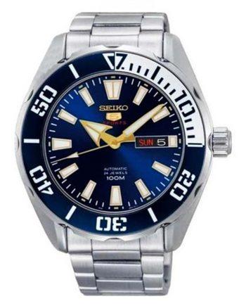 SEIKO 5 Sports SRPC51J1 Orologio Automatico Blue Dial 100m