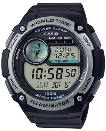 CASIO Collection CPA-100-1A Orologio Digitale Time Prayer Alarm