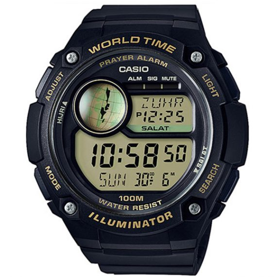 CASIO Collection CPA-100-9A Orologio Digitale Time Prayer Alarm