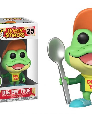 Funko POP! DIG EM FROG 25 Ad Icons Honey Smacks