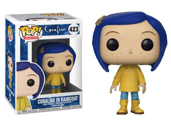 Funko POP! Animation CORALINE IN RAINCOAT 423 Vinyl Figure