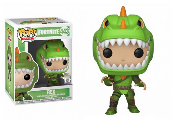 Funko POP! Games Fortnite REX 443 Vinyl Figure