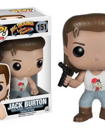 Funko POP! Movies JACK BURTON Big Trouble in Little China