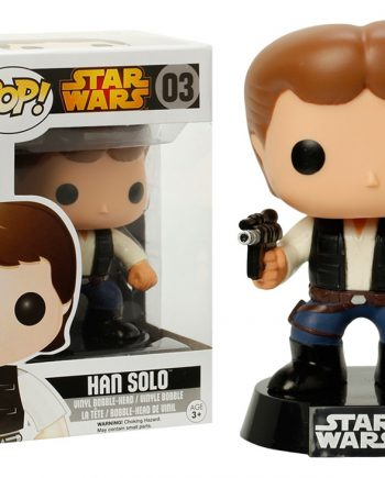 Funko POP! Star Wars HAN SOLO 03 Vinyl Figure (Black Box)