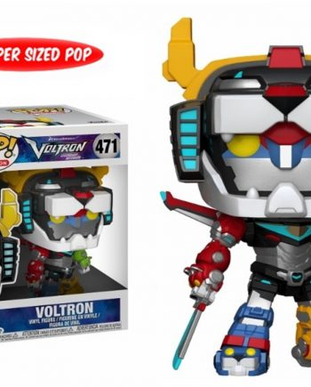Funko POP! Animation VOLTRON 471 6 Inch Super Sized