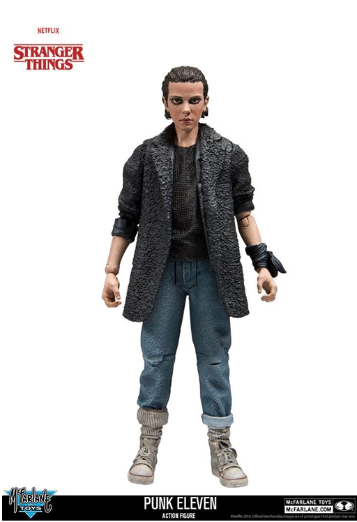 McFarlane Toys Stranger Things ELEVEN PUNK Action Figure 15cm