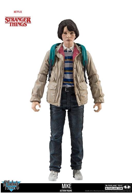 McFarlane Toys Stranger Things MIKE Action Figure 15cm
