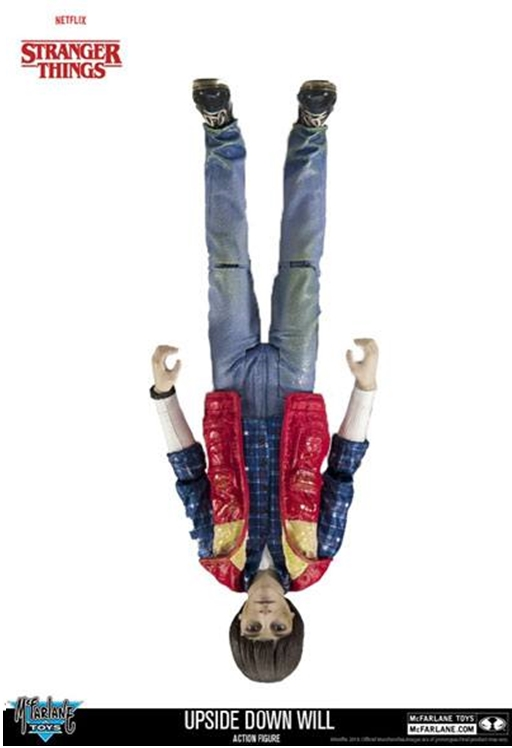 McFarlane Toys Stranger Things UPSIDE DOWN WILL Action Figure