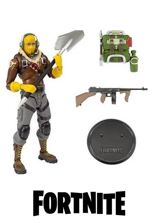 McFarlane Toys Fortnite Action Figure RAPTOR 18 cm