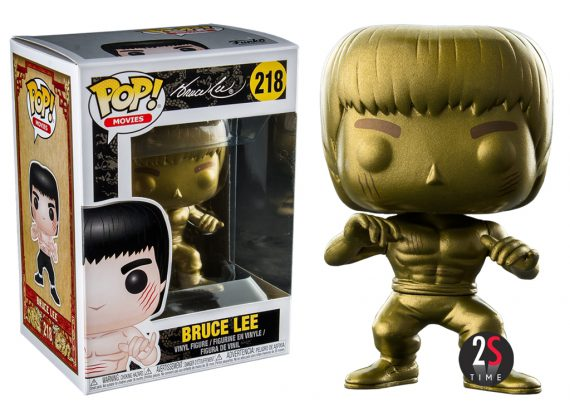 Funko Pop! BRUCE LEE GOLD 218 Enter the Dragon