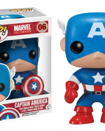 Funko POP! CAPTAIN AMERICA 06 Classic Version