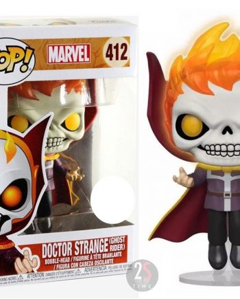 Funko POP! Marvel DOCTOR STRANGE as GHOST RIDER 412