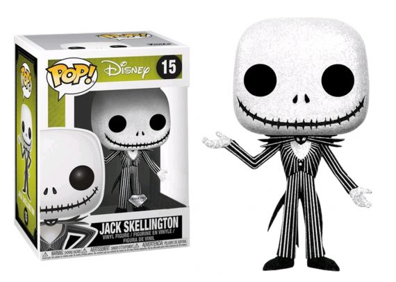 Funko POP! Disney JACK SKELLINGTON GLITTER 15 Diamond