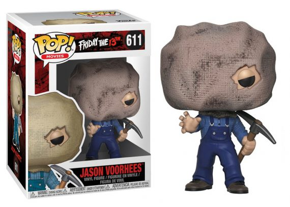 Funko POP! Friday The 13th JASON with BAG MASK 611