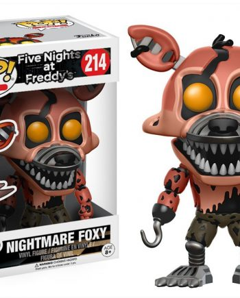 Funko POP! Five Nights at Freddy's NIGHTMARE FOXY 214