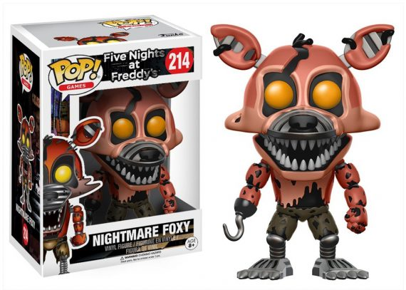 Funko POP! Five Nights at Freddy's NIGHTMARE FOXY 214