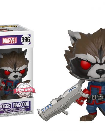 Funko POP! Marvel ROCKET RACCOON CLASSIC 396 GOTG Exclusive