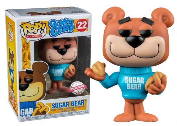 Funko Pop! AD Icons SUGAR BEAR 22 Exclusive Vinyl Figure