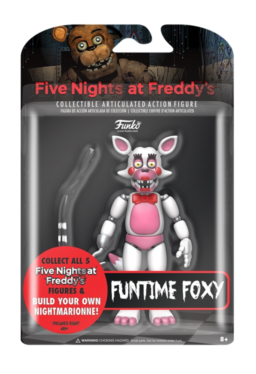 Funko Five Nights at Freddy's FUNTIME FOXY Action Figure