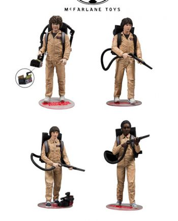 McFarlane Toys Stranger Things 4-Pack GHOSTBUSTERS DELUXE
