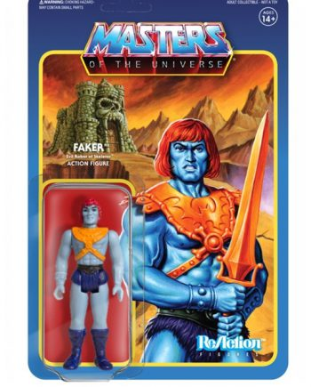 Masters of the Universe Super 7 ReAction FAKER Action Figure