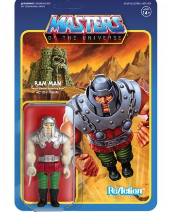 Masters of the Universe Super 7 ReAction RAM MAN