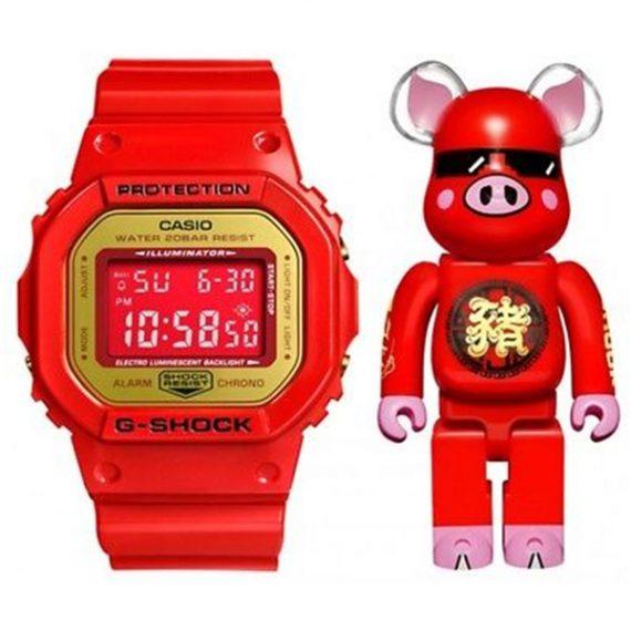 Casio G-Shock ACU x Be@rbrick DW-5600CX-4PRP