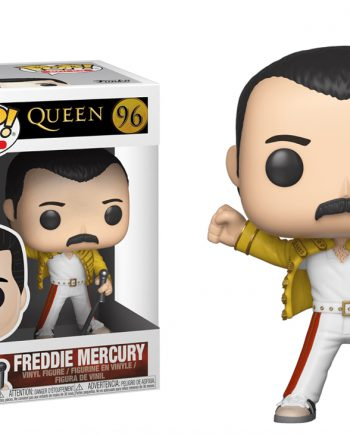 Funko POP! Rocks FREDDIE MERCURY 96 Vinyl Figure