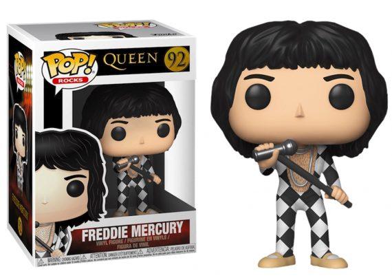 Funko POP! Rocks FREDDIE MERCURY 92 Vinyl Figure