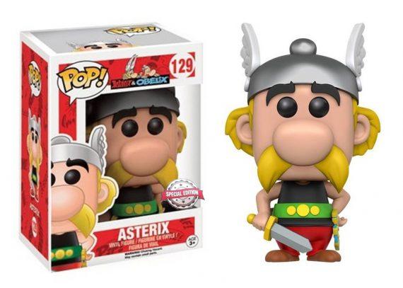 Funko POP! ASTERIX 129 Asterix & Obelix Vinyl Figure