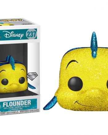 Funko POP! Disney FLOUNDER DIAMOND GLITTER 237 Exclusive