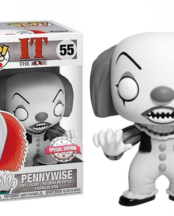 FUNKO-POP-PENNYWISE-BLACK-WHITE