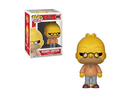 Funko POP! Television THE SIMPSONS GRAMPA ABE Vinyl Figure