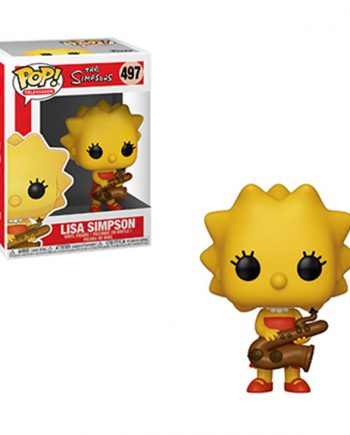 Funko POP! Television THE SIMPSONS LISA SIMPSON Vinyl Figure
