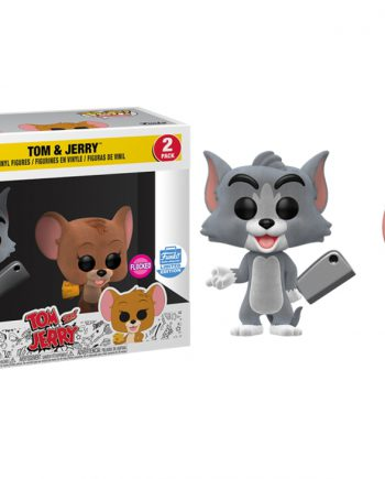 Funko POP! Animation TOM & JERRY Flocked 2-Pack Exclusive