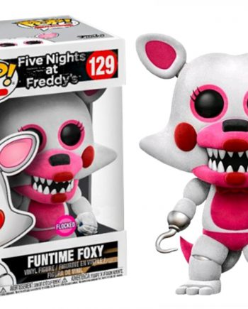 Funko POP! Five Nights at Freddy's FUNTIME FOXY FLOCKED 129