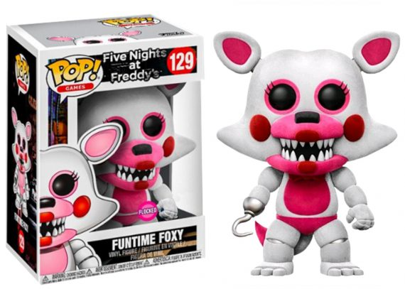 Funko POP! Five Nights at Freddy's FUNTIME FOXY FLOCKED 129