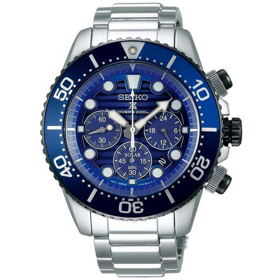 SEIKO Prospex SAVE THE OCEAN SSC675P1 Cronografo Solare